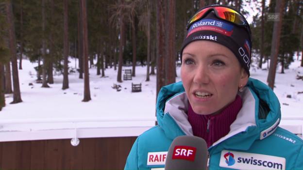 Video «Gasparin: «Lena bringt Schwung ins Team»» abspielen