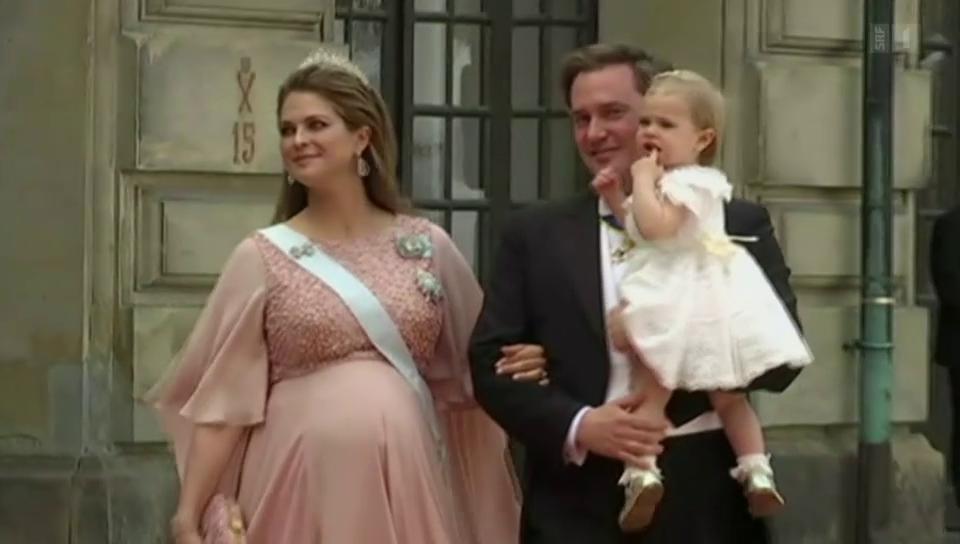 Prinzessin Madeleine ist wieder Mama