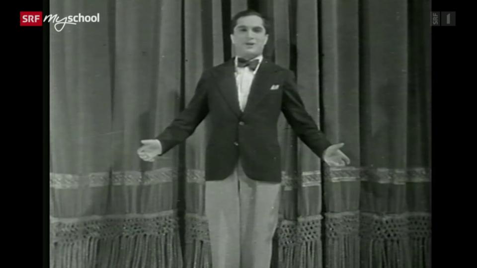 Sänger Joseph Schmidt