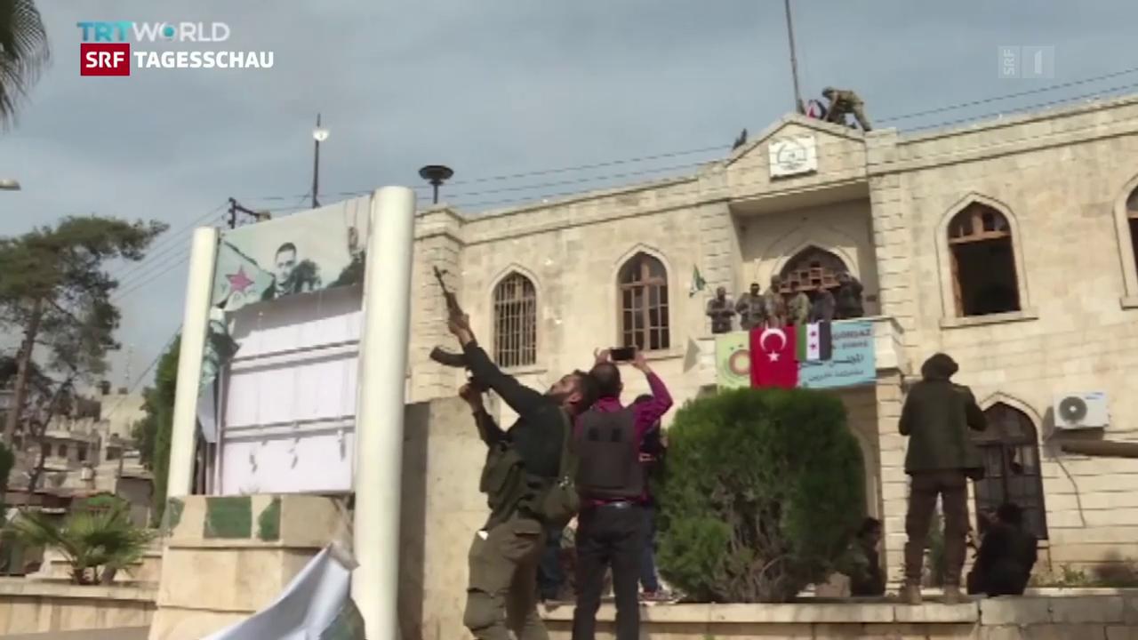 Türkische Armee erobert Afrin