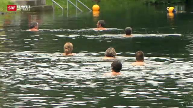 Risiko Flussbaden