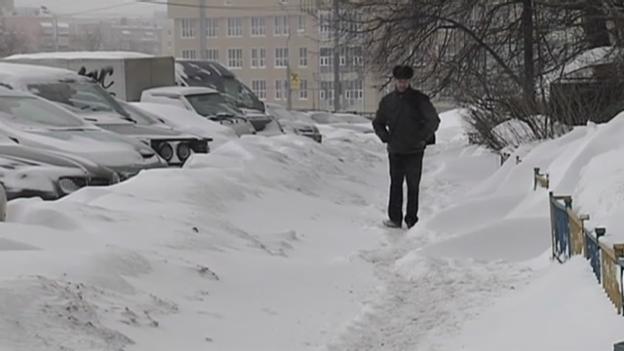 Video «Moskau versinkt im Schnee» abspielen