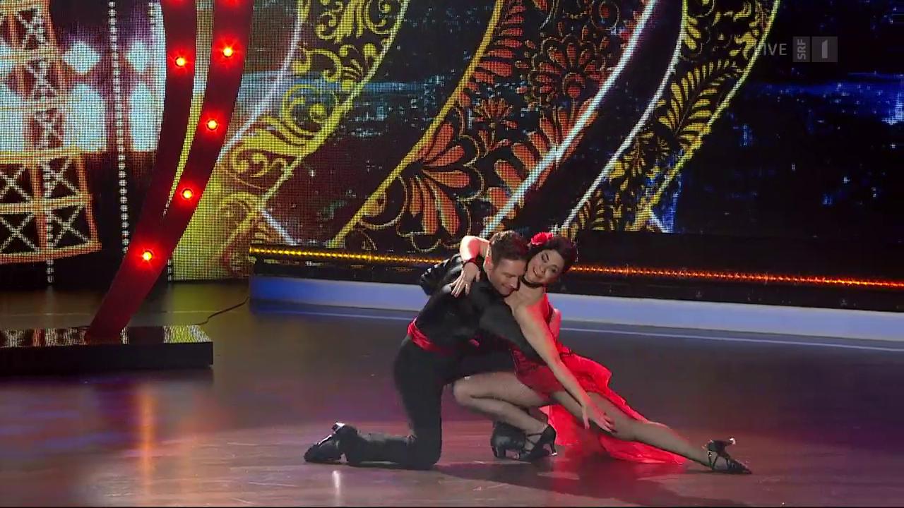Tonia Maria Zindel und Marc Aeschlimann mit dem Tango de Roxanne aus «Moulin Rouge»