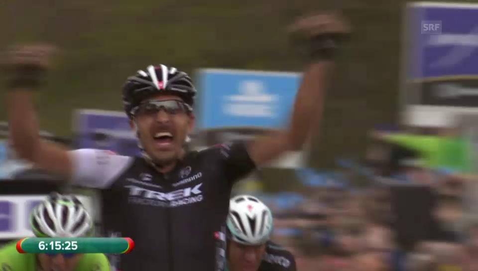 Cancellaras Sprintsieg 2014