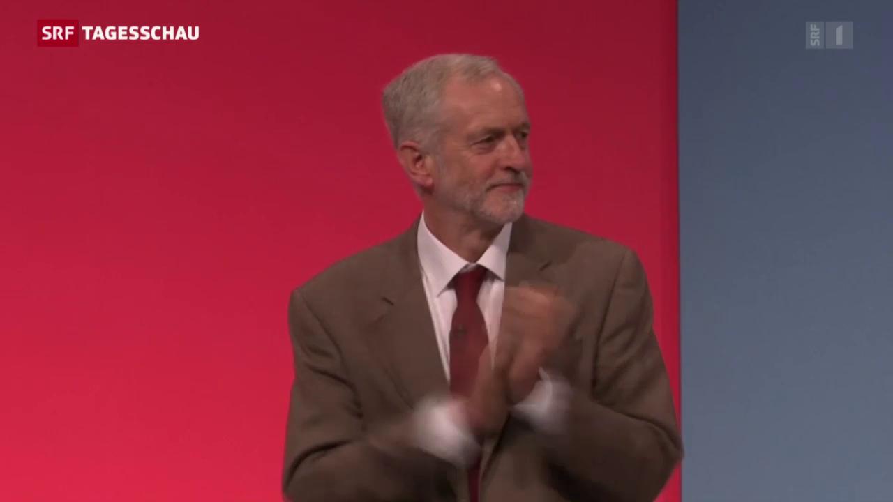 Erste Rede von Labour-Chef Corbyn