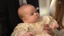 Video «Baby George – royale Taufe» abspielen