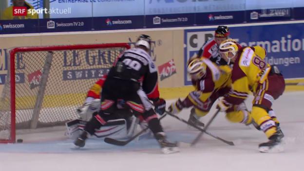 Video «Eishockey: Freiburg-Genf» abspielen
