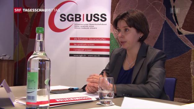 Video «Wie weiter mit der Schweizer Wirtschaft?» abspielen