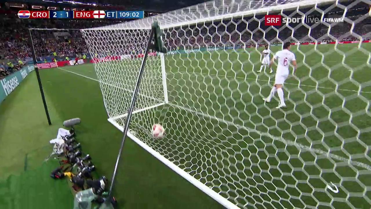 Kroatien - England: Die Live-Highlights