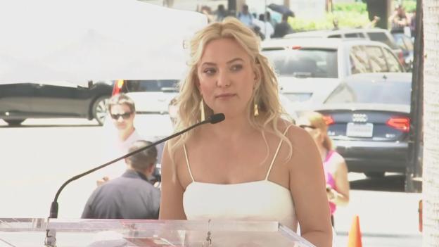 Video «Kate Hudson über das Paar (engl.)» abspielen
