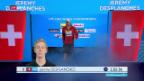 Video «Desplanches schwimmt im Final hinterher» abspielen