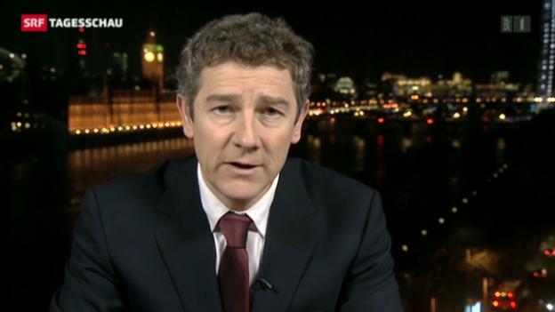 Video «Einschätzungen von Peter Balzli in London» abspielen