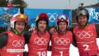 Video «Skicross: Schweizer mit grossen Ambitionen» abspielen