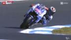Video «Motorrad: MotoGP in Australien» abspielen