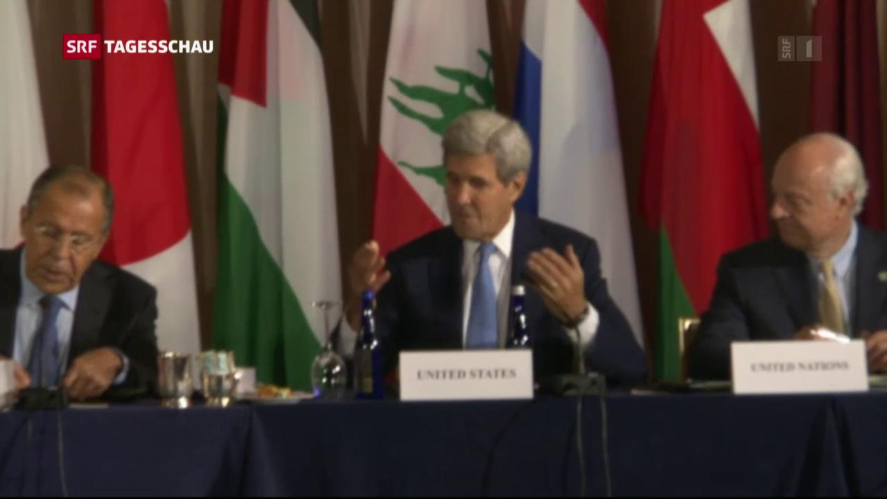 Syrien-Verhandlungen in New York