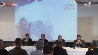 Video «Bund unterstützt «Sion 2026»» abspielen