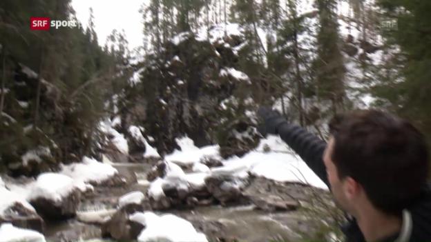 Video «Der «Sprung in die Emme»» abspielen