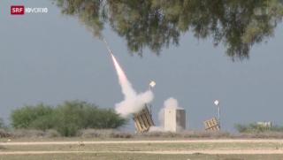 Video «Wie «Iron Dome» Israel vor den Hamas-Raketen schützt» abspielen