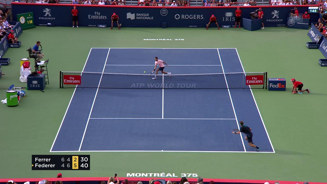 Federer spart sich das Beste zum Schluss auf
