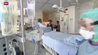 Video «Schweiz erwartet ersten Ebola-Patienten » abspielen