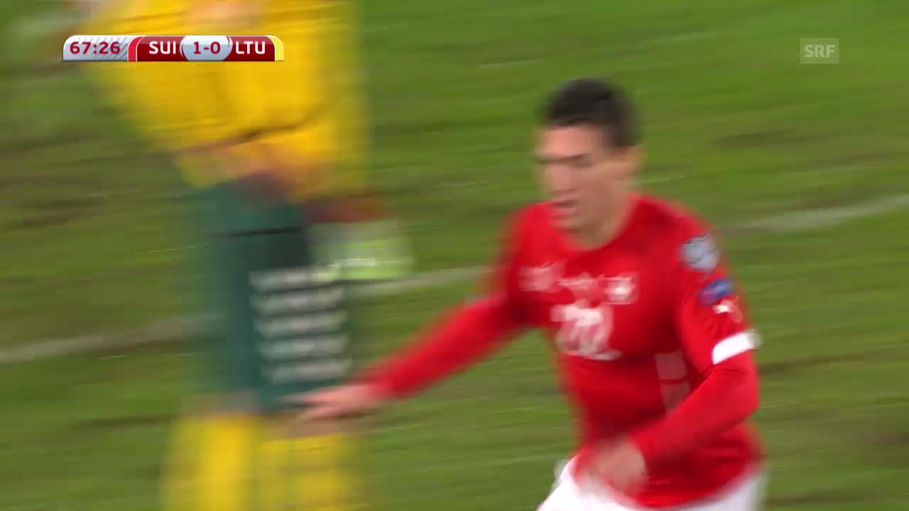 Fussball: EM-Quali, Schweiz - Litauen