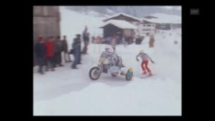 Video «Auto-Skijöring (1985)» abspielen