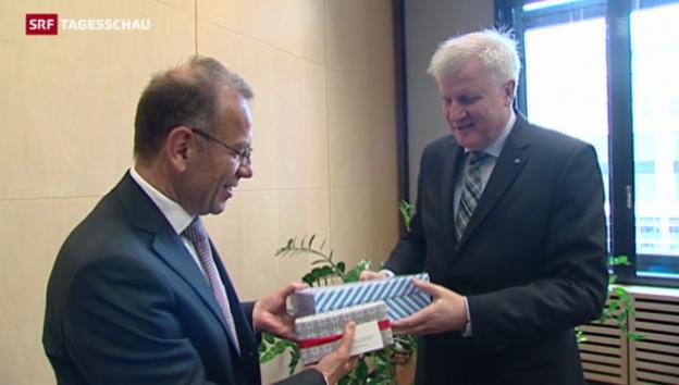 Video «Ständeratspräsident in Berlin» abspielen