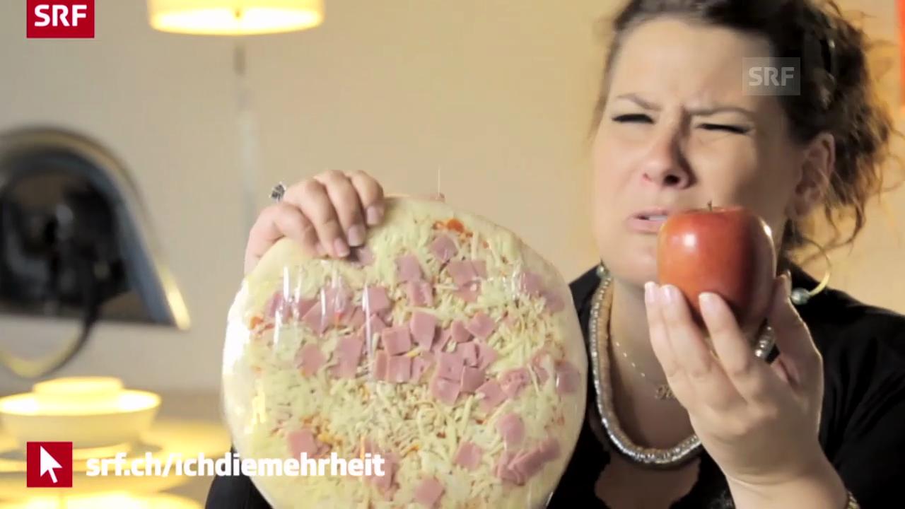 Pony M.: «Pizza oder Apfel? Ihr enscheidet!»