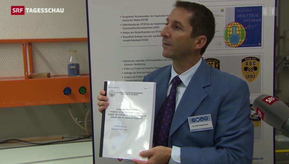 Sicherheitslabor in Spiez äussert sich zu Giftgas-Untersuchungen