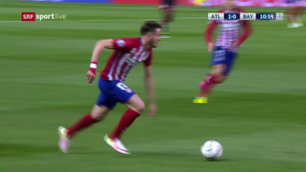 Video «Live-Highlights: Atletico - Bayern» abspielen