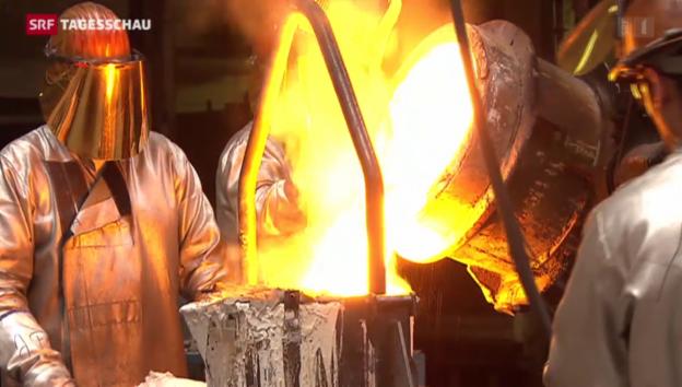 Video «Industrie hält an Bilateralen fest» abspielen