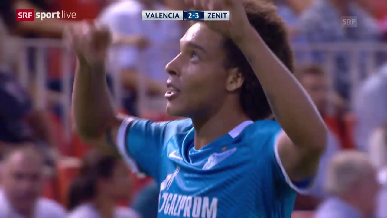 Fussball: Champions League, Zusammenfassung Valencia - Zenit