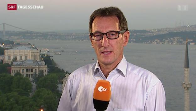 Video «ZDF-Korrespondent Luc Walpot zu den Angriffen auf die PKK» abspielen