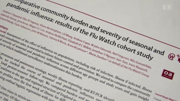Video «Grippe ohne Symptome» abspielen