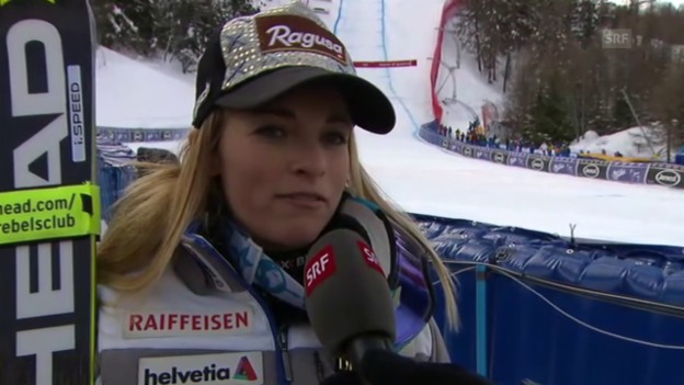 Video «Das meint Lara Gut zu ihrem Sieg in La Thuile» abspielen