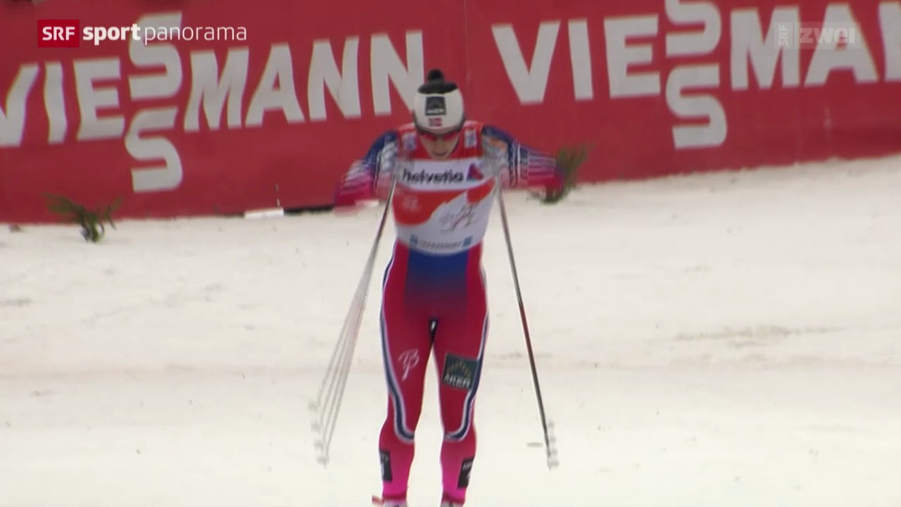 Langlauf: Tour de Ski, 2. Etappe Frauen in Oberstdorf