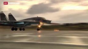 Video «Russlands Teilabzug aus Syrien » abspielen