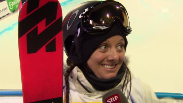 Video «Freestyle-WM: Interview mit Virginie Faivre» abspielen