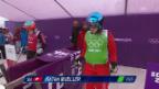 Video «Skicross: Frauen, Achtelfinal mit Katrin Müller (sotschi direkt, 21.2.2014)» abspielen