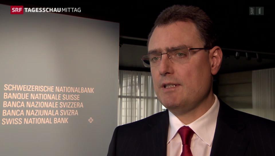 SNB hält an Mindestkurs fest