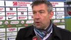 Video «Fussball: Super League, Thun - Zürich, Interview mit Urs Fischer» abspielen