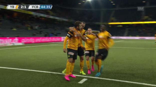 Video «Fussball: YB - Basel, die Live-Highlights» abspielen