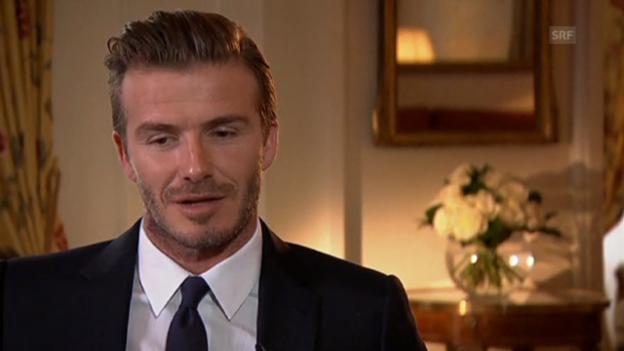 Video «David Beckham gibt seinen Rücktritt bekannt» abspielen