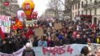 Video «Frankreichs Regierung ist 35-Stunden-Woche nicht mehr heilig» abspielen