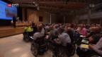 Video «Paraplegiker lehnen interne Lohn-Untersuchungen ab» abspielen
