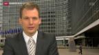 Video «Einschätzungen von Jonas Projer, SRF-Korrespondent Brüssel» abspielen