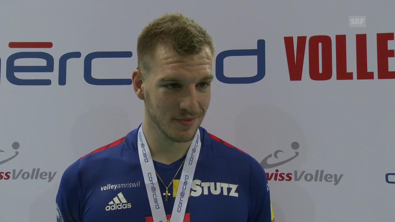 Amriswils Sebastien Steigmeier zum Cupsieg