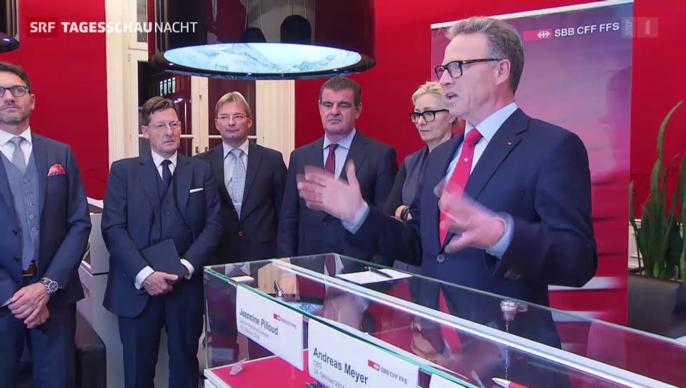 SBB und Stadler Rail besiegeln Bau von neuen Neat-Zügen