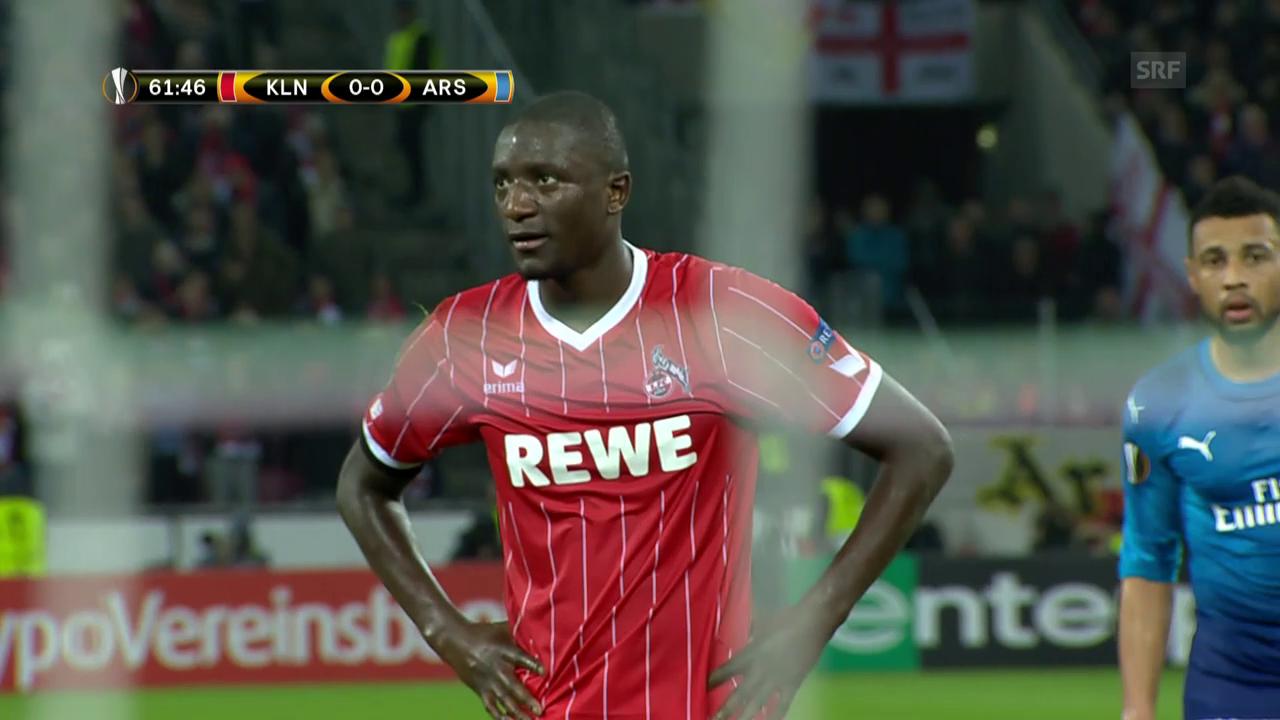 Köln düpiert Arsenal
