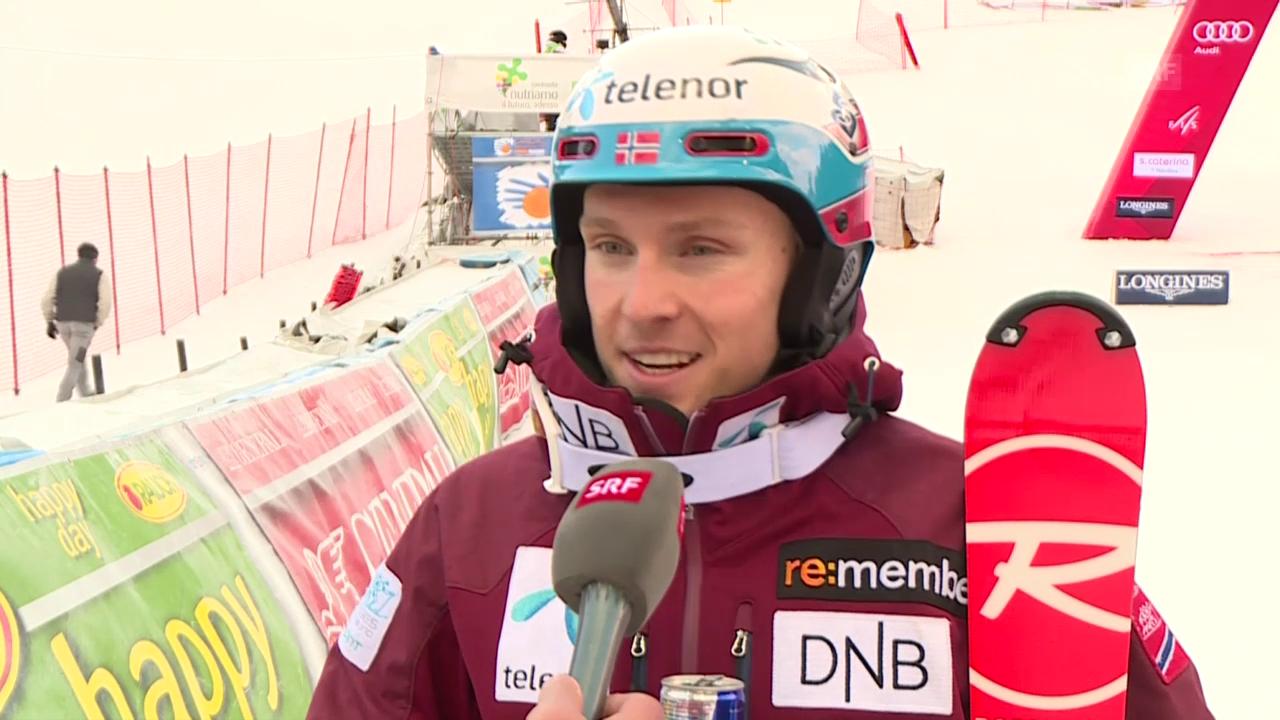 Henrik Kristoffersen spricht über den Konkurrenzkampf mit Marcel Hirscher (englisch)